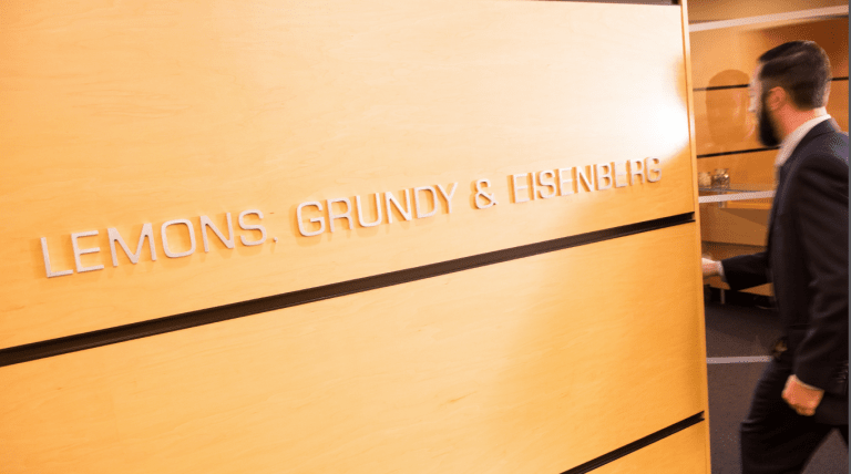 Lemons Grundy & Eisenberg firm